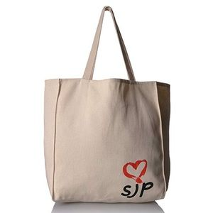 SJP Collection Canvas Tote